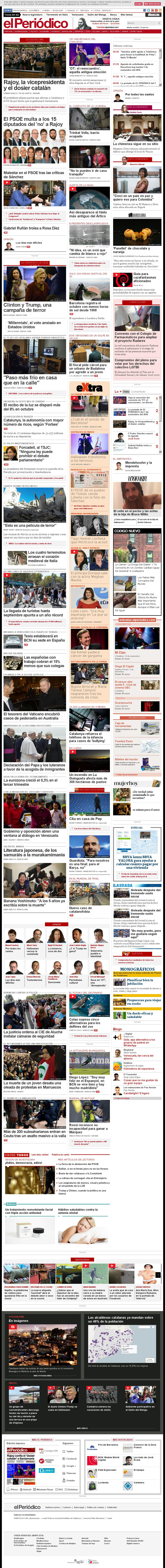 El Periodico at Tuesday Nov. 1, 2016, 2:15 a.m. UTC