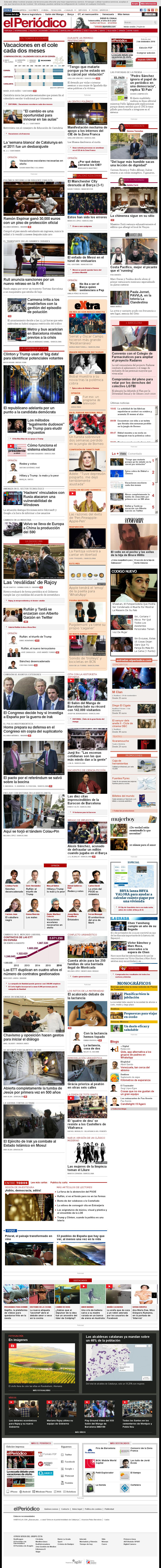 El Periodico at Wednesday Nov. 2, 2016, 9:13 a.m. UTC