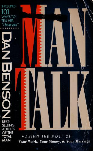 Cover of: Man talk | Dan Benson