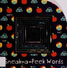 Cover of: Sneak-a-peek words   Aimee Chapman